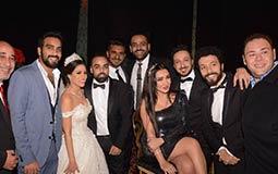 نجوم الفن والمشاهير يحتفلون بزفاف المخرج أحمد تمام وروميساء سامح