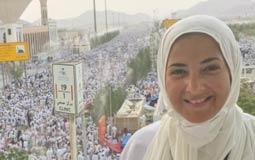 بالصور- الظهور الأول لدنيا سمير غانم بعد عودتها من الحج