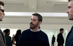 """بالفيديو- جيمي كيمل يعرض """"المشهد المحذوف"""" من Batman v Superman"""