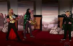بالفيديو - أبطال Thor: Ragnarok يفاجئون الجمهور بإحدى دور العرض الأمريكية