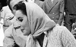 المنتج المسرحى مايك تود وزوجته بطلة فيلم كليوباترا إليزابيث تايلور