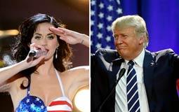دونالد ترامب وكاتي بيري