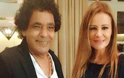 محمد منير بجانب كارول سماحة