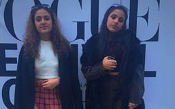 كنزي وجانا عمرو دياب