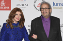 """نور الشريف وميرفت أمين في العرض الأول لفيلم """"بتوقيت القاهرة"""""""