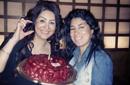 بالصور – أيتن عامر لشقيقتها وفاء عامر في عيد ميلادها: ربنا يخليكي يا طويلة
