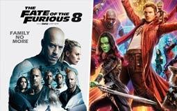 الإيرادات الأمريكية- الجزء الثاني من Guardians of the Galaxy يزيح Fast 8 من القمة.. وريتشارد جير يخرج من المنافسة