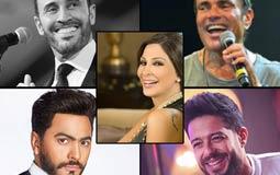 دبي تستحوذ على نجوم الغناء بالوطن العربي في رأس السنة..منهم عمرو دياب وحماقي وإليسا