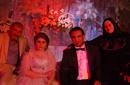 محمود الليثي وعروسه كوكي سيد سكر ووالديه