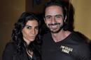 """صورة: عمرو مهدي وزوجته في ضيافة """"خطة جيمي"""""""