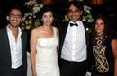 بالصور: منى وحلمي وأبو النجا ومنير في زفاف هاني خليفة
