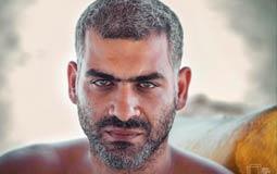 صورة- هاني عادل يتخلص من اللحية: وشي كان واحشني!