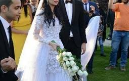 مفاجأة للجمهور.. هبة مجدي ومحمد محسن يذهبان إلى المسرح بعد الزواج