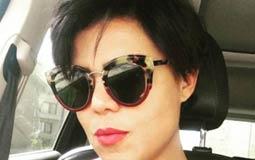 ظهرت الممثلة ناهد السباعي بشكلا جديدا ومختلفا بعدما قامت بقص شعرها.