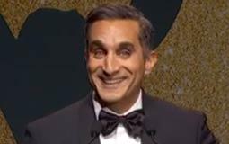 """بالفيديو- باسم يوسف يكشف لأول مرة حقيقة وقف """"البرنامج"""".. ثم يتراجع"""