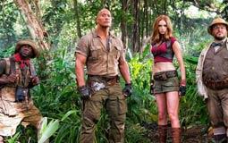 بالفيديو - دوين جونسون يسعى للبقاء على قيد الحياة في Jumanji: Welcome to the Jungle