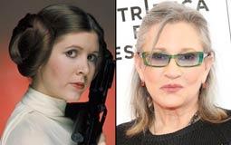 رغم وفاتها.. كاري فيشر تظهر في الجزء التاسع من سلسلة أفلام Star Wars