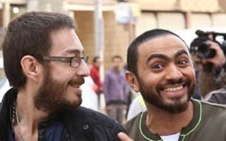 تامر حسني وأحمد زاهر تجمعهما صداقة قوية منذ سنوات كثيرة