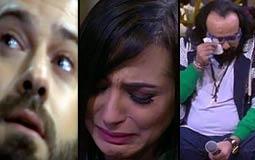 """بالفيديو- 19 فنانا أبكتهم منى الشاذلي في برنامجها """"معكم"""""""