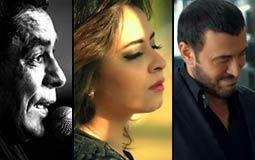 """#سباق_الأغاني.. الأغاني الأكثر شهرة على """"YouTube مصر"""" في نهاية الأسبوع الأول من 2016"""