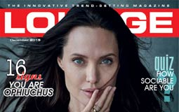 أنجيلينا جولي تكشف كواليس فيلمها By The Sea لمجلة Lounge