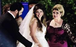 """بالصور- """"7 خطايا"""" تجمع مها أحمد ومجدي كامل في زفاف ملك قورة"""