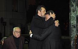 كريم عبد العزيز يحاول تهدئة تامر حبيب