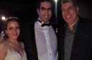 زفاف كريم خطاب مذيع نغم اف ام علي راندا فريد