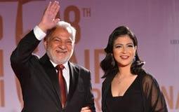 صورة- سامح الصريطي يحضر افتتاح مهرجان القاهرة السينمائي مع ابنته
