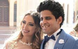 صور- نجوم مسرح مصر يهنئون حمدي الميرغني وإسراء عبد الفتاح في ليلة الحنة