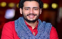 """الصور الأولى من خطوبة حامد الشراب نجم """"مسرح مصر"""""""