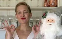 نشرت الممثلة الأمريكية كيت هدسون فيديو يكشف عن استعداداتها للاحتفال بالعام الجديد.