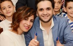عقد قران نجم مسرح مصر مصطفي خاطر في حفل عائلي