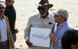 مورجان فريمان عن أكثر ما يتذكره عن مصر: الكثير من السيارات بلا مرايا جانبية