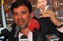 بالصور والفيديو: خالد يوسف يطلق تفاصيل برنامجه الانتخابي في مؤتمر صحفي