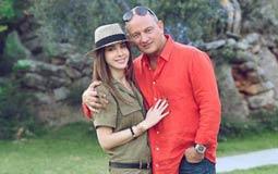 بالصور- نانسي عجرم في جلسة تصوير جديدة مع زوجها بلندن