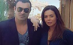 بالصور- إيمي سالم تعود إلى زوجها غسان المولى