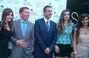 إليسا وأنابيلا هلال مقدمة Arab Idol ونانسي عجرم مع السفير البريطاني
