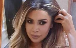 """نشرت المطربة اللبنانية نوال الزغبي صورة من كواليس تصوير أغنيتها الجديدة """"برج الحمل""""."""