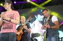 فارس يعود للغناء في حفل رامي صبري