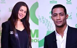 بالصور والفيديو- محمد رمضان ومي عز الدين يتعاقدان مع MBC لمسلسلاتهما في رمضان 2016