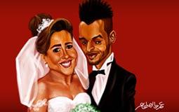 ملف- كل ما فاتك عن زفاف مي كساب وأوكا