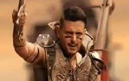 """رامز جلال يقلد """"Mad Max"""""""