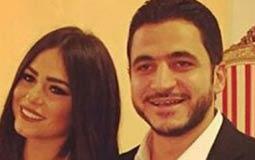 بالصور- كريم السبكي يحتفل بخطوبته على ابنة محمد حسن رمزي