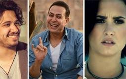 """#سباق_الأغاني.. الأغاني الأكثر شهرة على """"YouTube مصر"""" في نهاية الأسبوع الـ 42"""