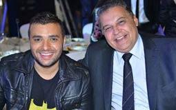 رامي صبري مع المنتج محسن جابر