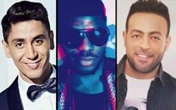 """#سباق_الأغاني.. الأغاني الأكثر شهرة على """"YouTube مصر"""" في نهاية الأسبوع السابع من ٢٠١٦"""