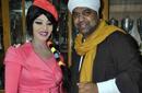حجازي متقال مع جواهر في حفل زفاف شقيقته