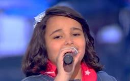 بالفيديو - أجمل ما غنت الموهبة المصرية أشرقت أحمد في The Voice Kids .. تميزت في الأغاني الشعبية