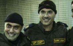 النقيب عمرو صلاح مع أحمد عز